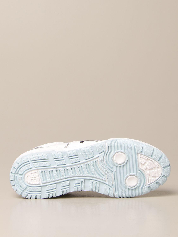 Sneakers Chiara Ferragni: Schuhe damen Chiara Ferragni silber 5