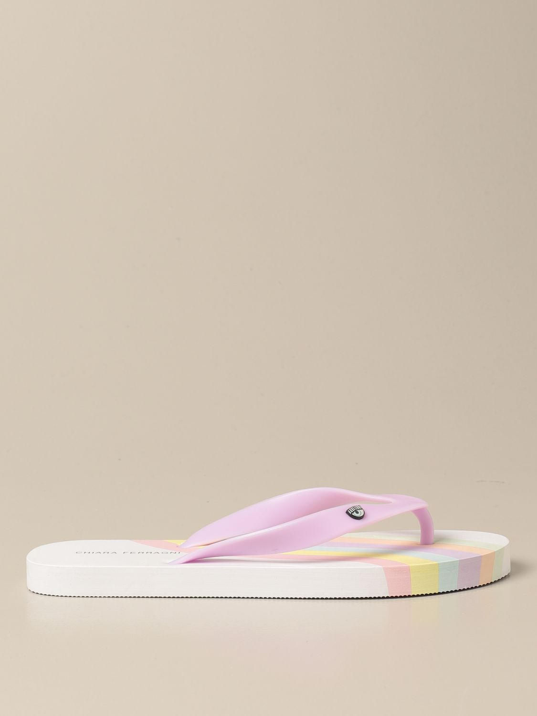 Zapatos Chiara Ferragni: Zapatos niños Chiara Ferragni blanco 1