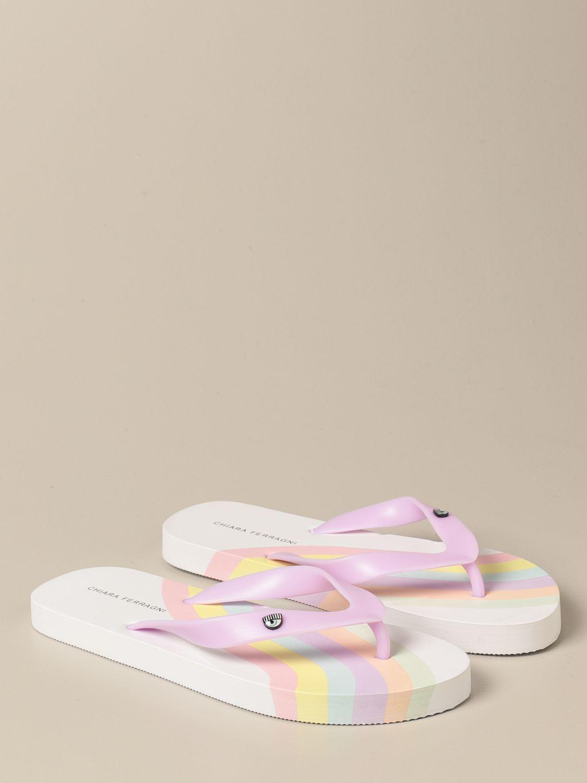 Zapatos Chiara Ferragni: Zapatos niños Chiara Ferragni blanco 2