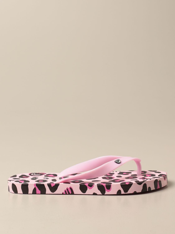 Zapatos Chiara Ferragni: Zapatos niños Chiara Ferragni rosa 1
