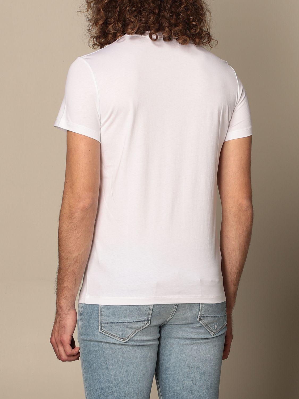 T-shirt Balmain: T-shirt Balmain in cotone con logo laminato bianco 2