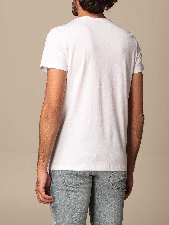 T-shirt Balmain: Balmain cotton T-shit with logo white 3