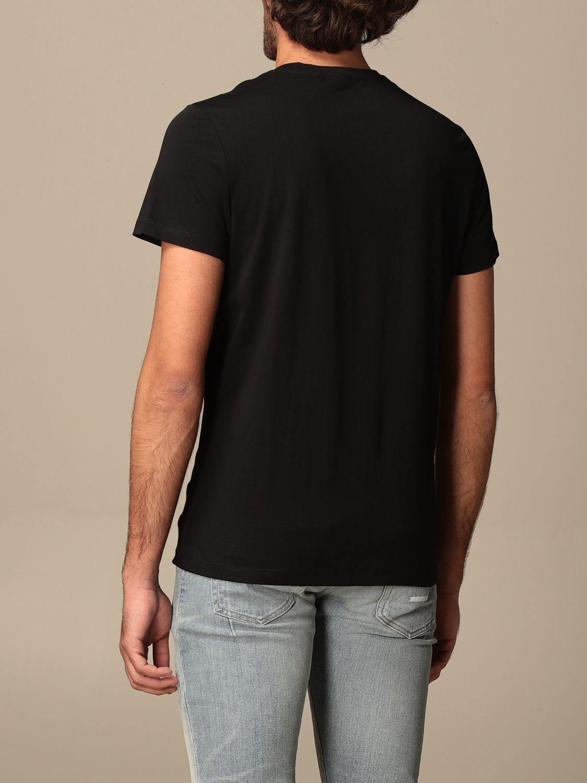 T-shirt Balmain: Balmain cotton T-shit with logo black 3