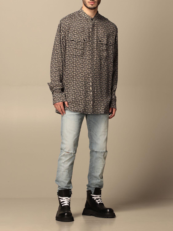 Shirt Balmain: Shirt men Balmain black 2