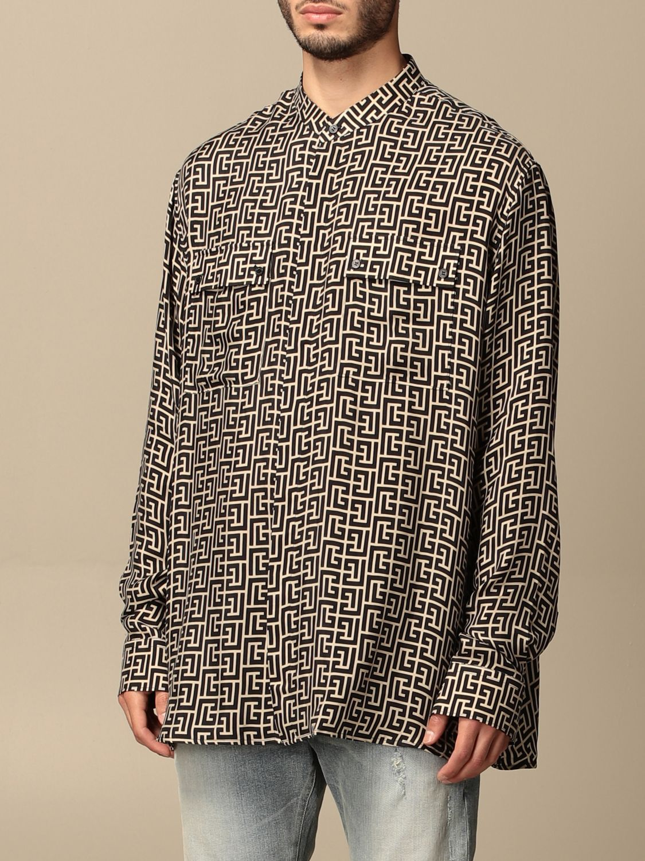 Shirt Balmain: Shirt men Balmain black 4