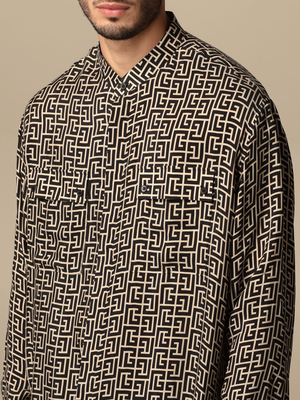 Shirt Balmain: Shirt men Balmain black 5