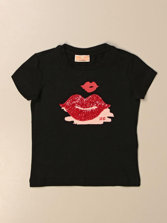 T-shirt Elisabetta Franchi: T-shirt enfant Elisabetta Franchi noir 1