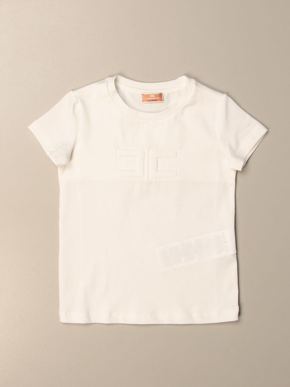 Camisetas Elisabetta Franchi: Camisetas niños Elisabetta Franchi blanco 1