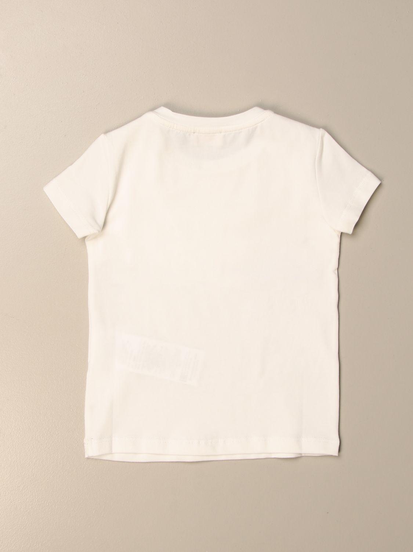 Camisetas Elisabetta Franchi: Camisetas niños Elisabetta Franchi blanco 2