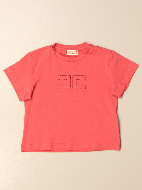 T-shirt Elisabetta Franchi: T-shirt enfant Elisabetta Franchi fuchsia 1