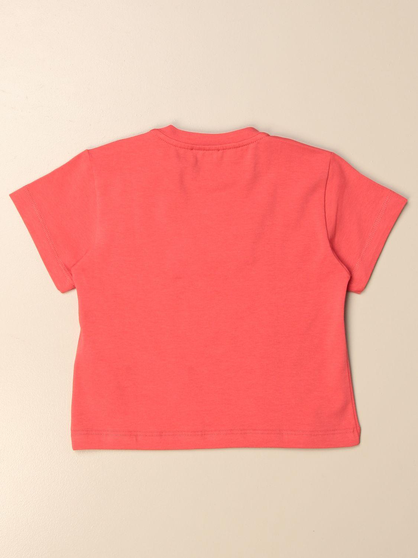T-shirt Elisabetta Franchi: T-shirt enfant Elisabetta Franchi fuchsia 2