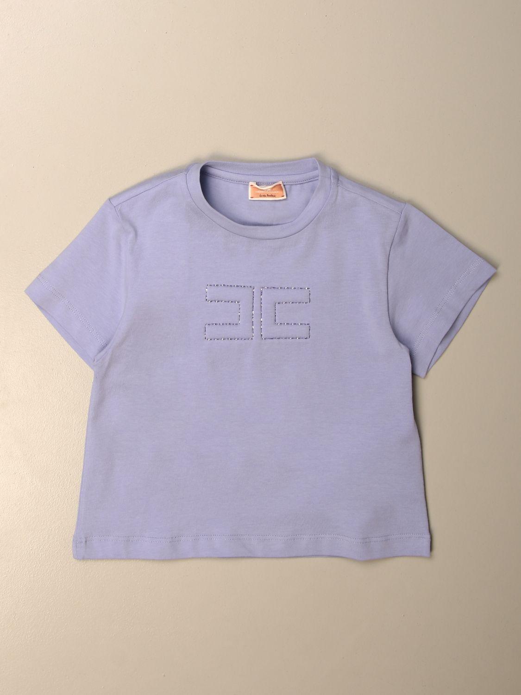 T-shirt Elisabetta Franchi: T-shirt enfant Elisabetta Franchi lilas 1