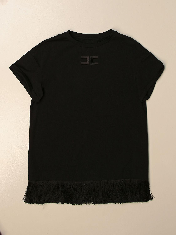 Robe Elisabetta Franchi: T-shirt enfant Elisabetta Franchi noir 1
