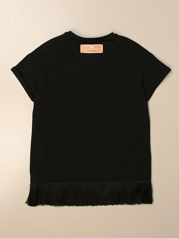 Robe Elisabetta Franchi: T-shirt enfant Elisabetta Franchi noir 2