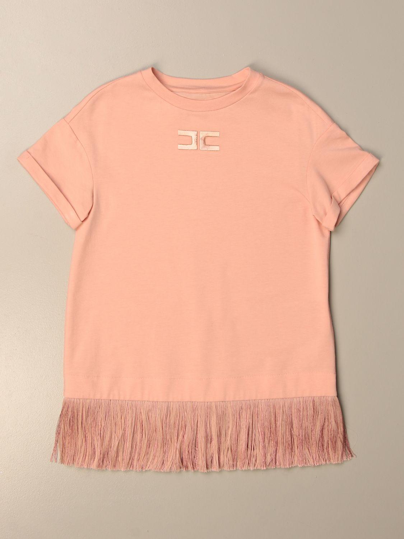 Платье Elisabetta Franchi: Футболка Детское Elisabetta Franchi розовый 1