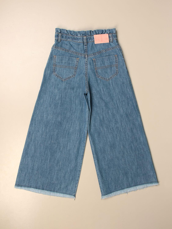 牛仔裤 Elisabetta Franchi: 牛仔裤 儿童 Elisabetta Franchi 石色 2
