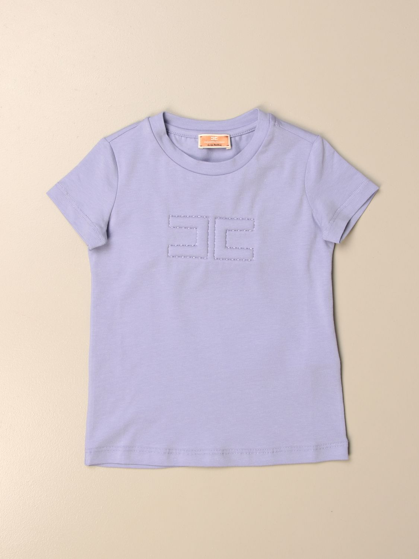 T-shirt Elisabetta Franchi: T-shirt enfant Elisabetta Franchi lavande 1