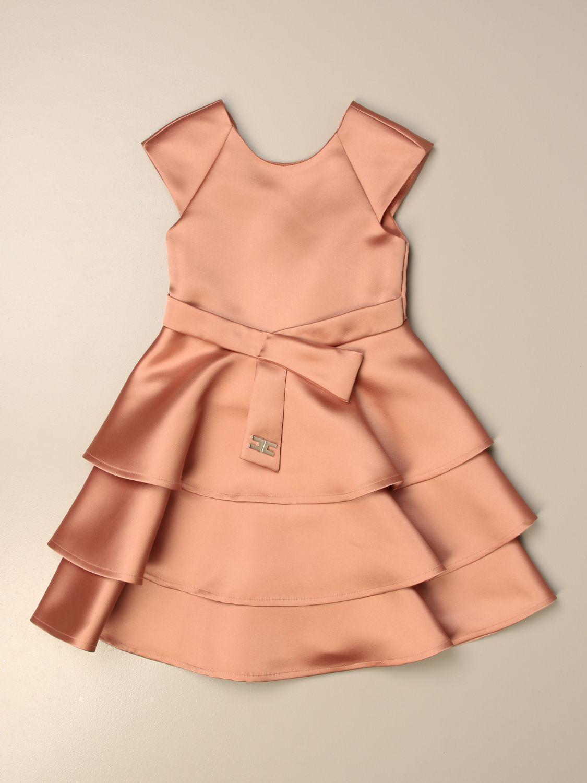 Платье Elisabetta Franchi: Платье Детское Elisabetta Franchi розовый 1