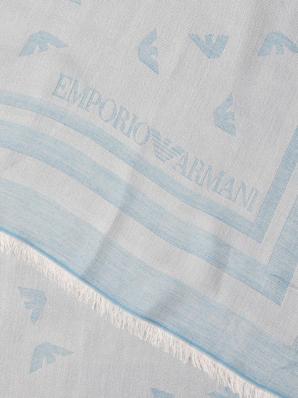 Schal Emporio Armani: Schal damen Emporio Armani hellblau 3