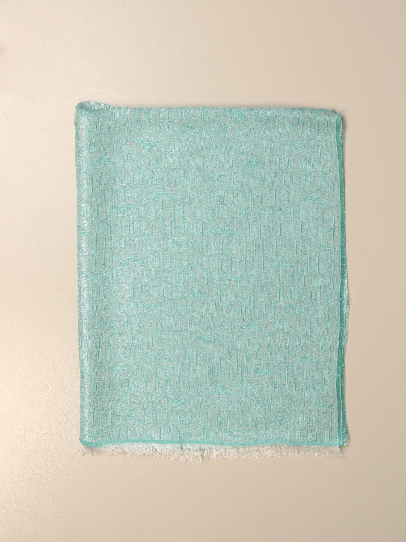 Schal Emporio Armani: Schal damen Emporio Armani grün 1