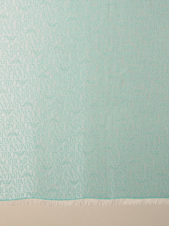 Schal Emporio Armani: Schal damen Emporio Armani grün 2