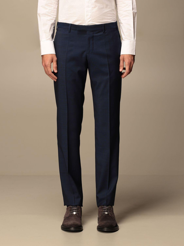Suit Emporio Armani: Emporio Armani single-breasted suit in wool 213 gr drop 8 indigo 6