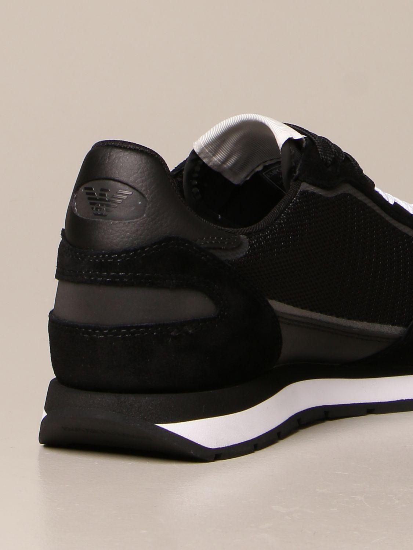 Baskets Emporio Armani: Chaussures homme Emporio Armani noir 3