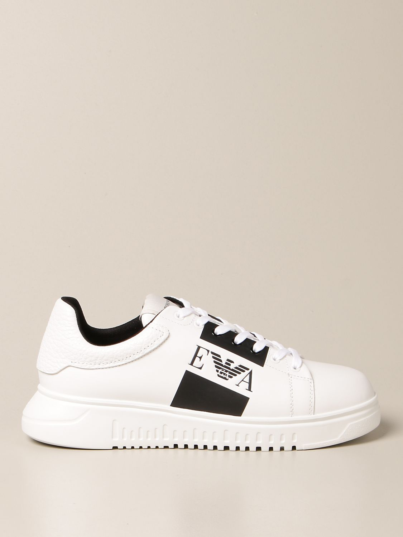 Sneakers Emporio Armani: Schuhe herren Emporio Armani weiß 1