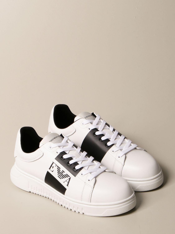 Sneakers Emporio Armani: Schuhe herren Emporio Armani weiß 2