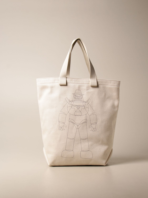 Tote bags Il Bisonte: Shoulder bag women Il Bisonte yellow cream 1