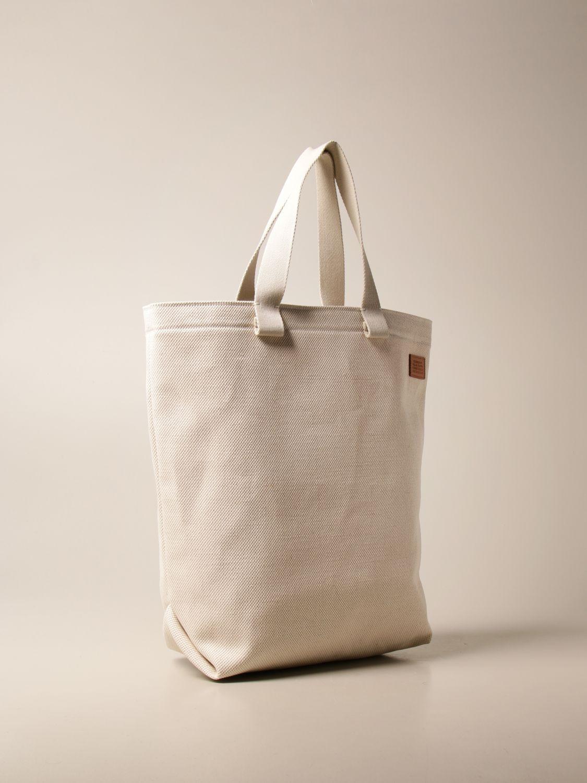Tote bags Il Bisonte: Shoulder bag women Il Bisonte yellow cream 2