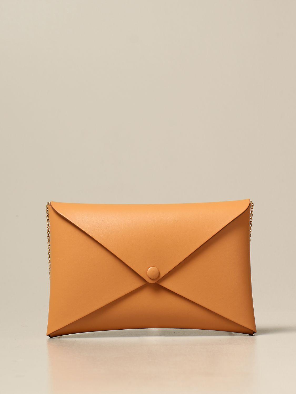 Shoulder bag Il Bisonte: Il Bisonte calf leather bag ocher 1