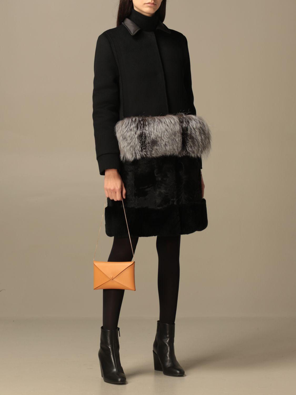 Shoulder bag Il Bisonte: Il Bisonte calf leather bag ocher 2