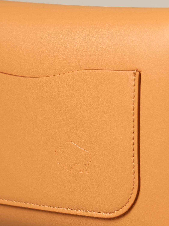 Shoulder bag Il Bisonte: Il Bisonte calf leather bag ocher 4