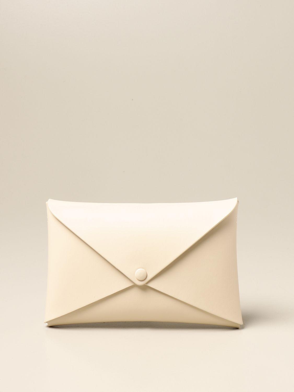 Shoulder bag Il Bisonte: Il Bisonte calf leather bag yellow cream 1