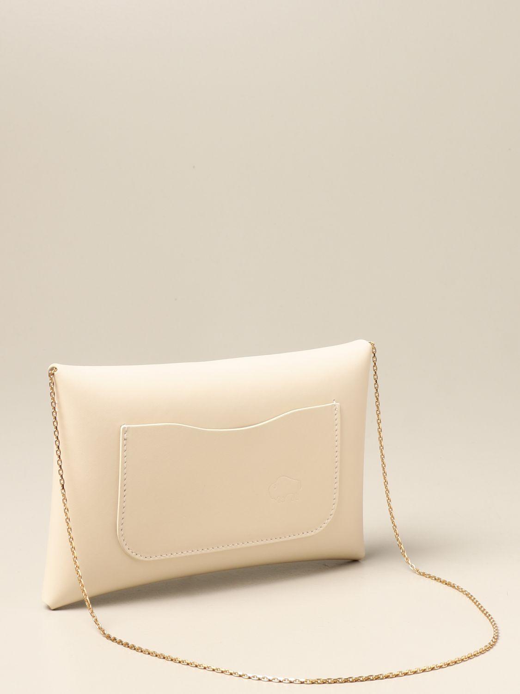 Shoulder bag Il Bisonte: Il Bisonte calf leather bag yellow cream 2