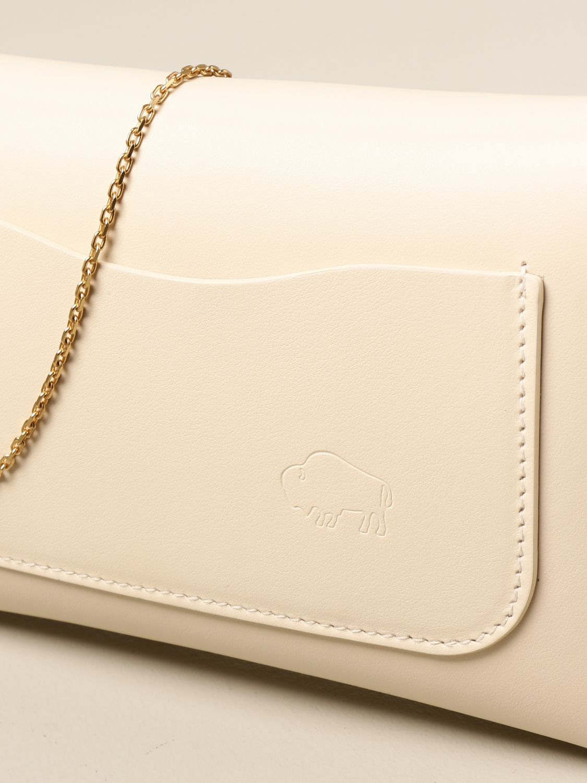 Shoulder bag Il Bisonte: Il Bisonte calf leather bag yellow cream 3