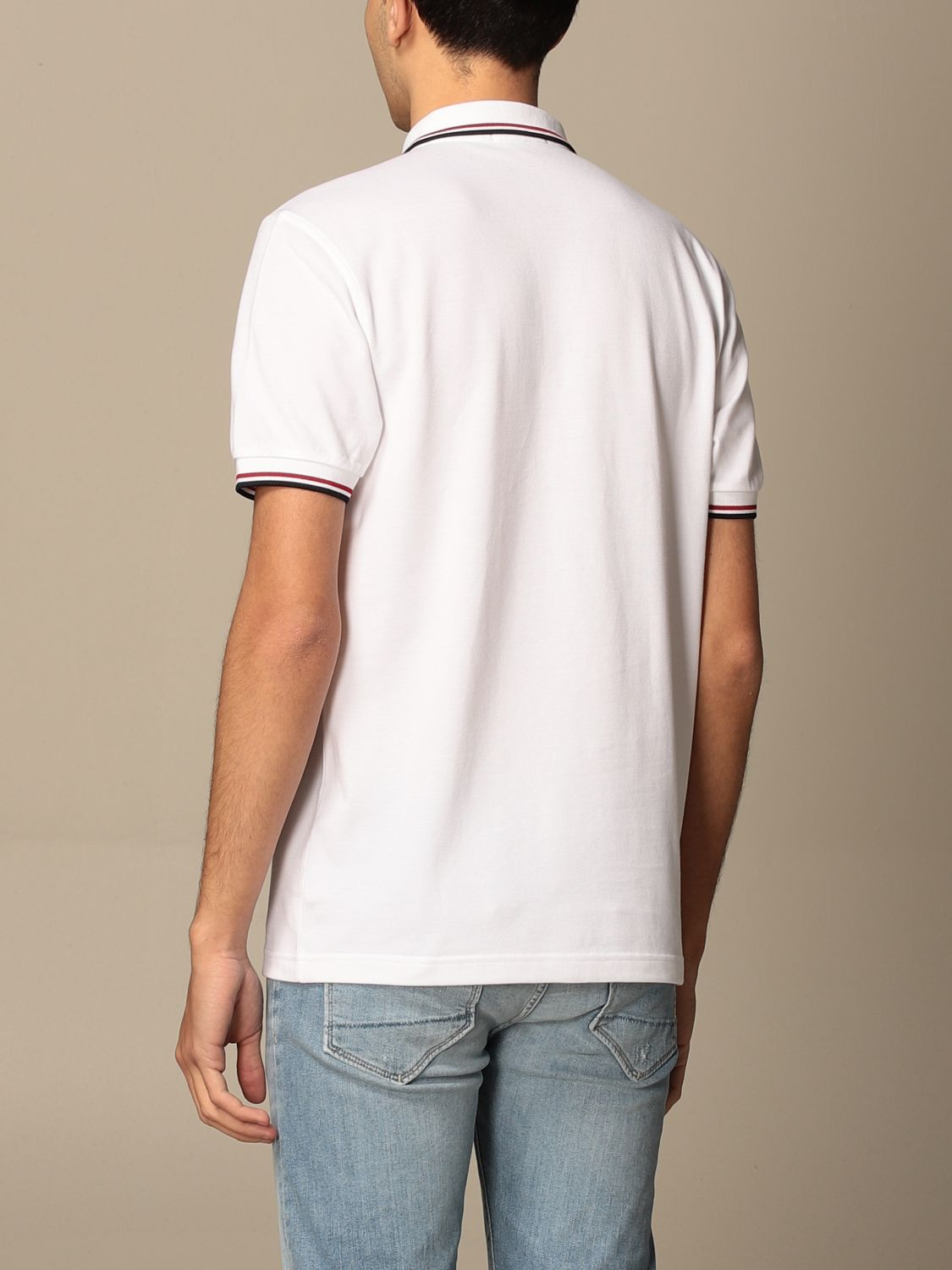 Polo shirt Fred Perry: Polo shirt men Fred Perry white 2
