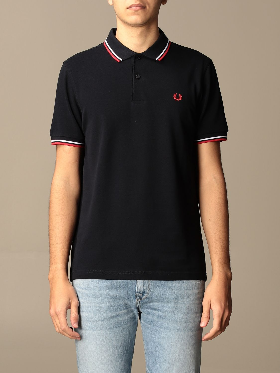 Polo shirt Fred Perry: Polo shirt men Fred Perry blue 1