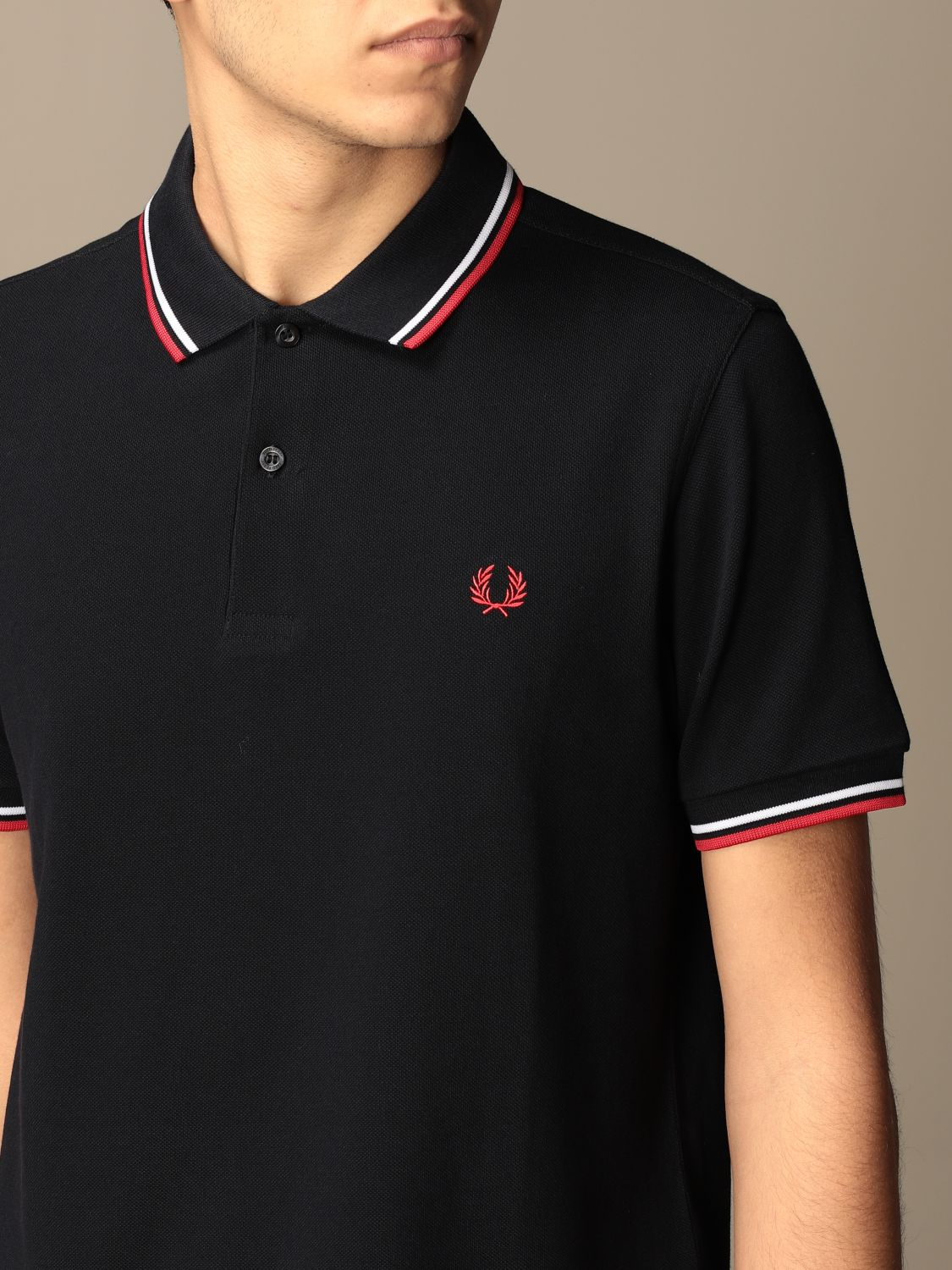 Polo shirt Fred Perry: Polo shirt men Fred Perry blue 3