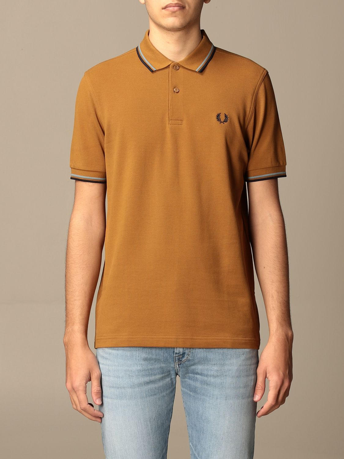 Polo Fred Perry: Polo hombre Fred Perry ambar 1