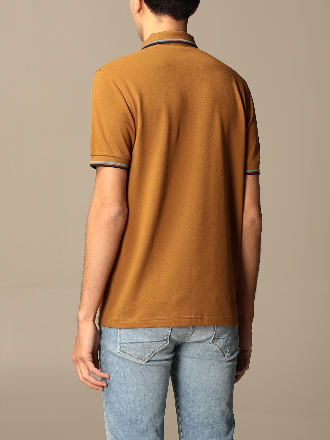 Polo Fred Perry: Polo hombre Fred Perry ambar 2