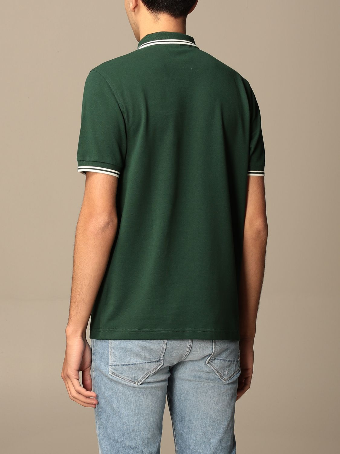 Polo Fred Perry: Polo hombre Fred Perry verde bosque 2