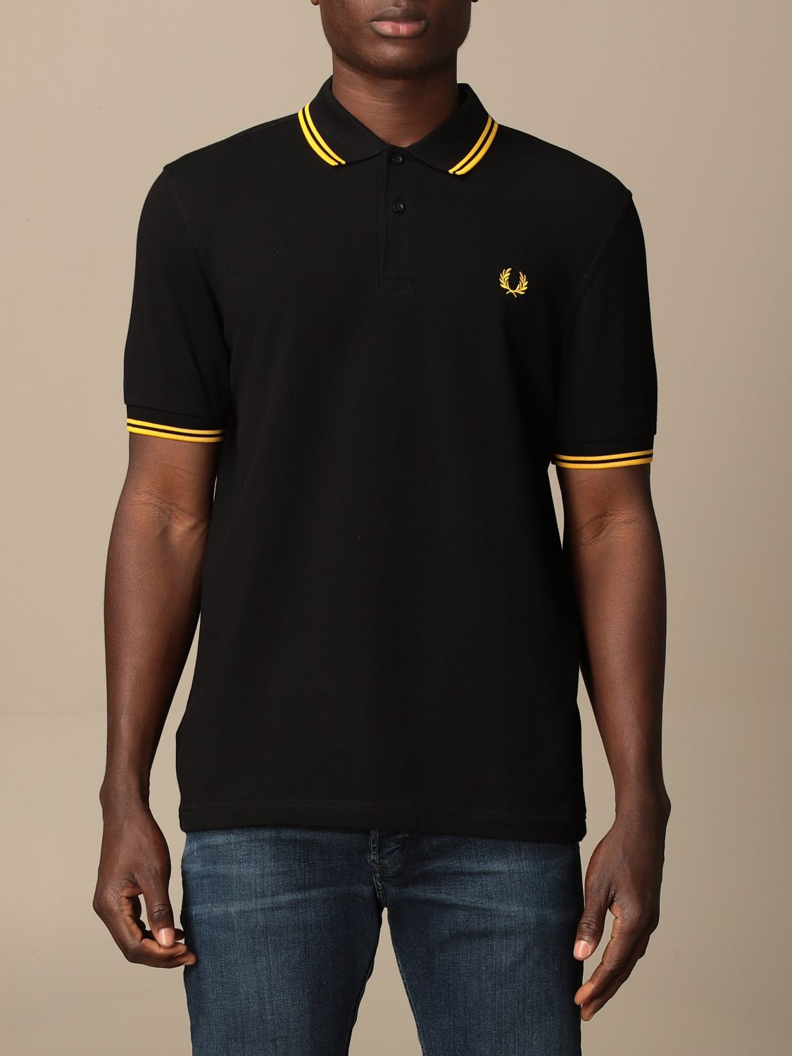 Polo Fred Perry: Polo homme Fred Perry noir 1 1