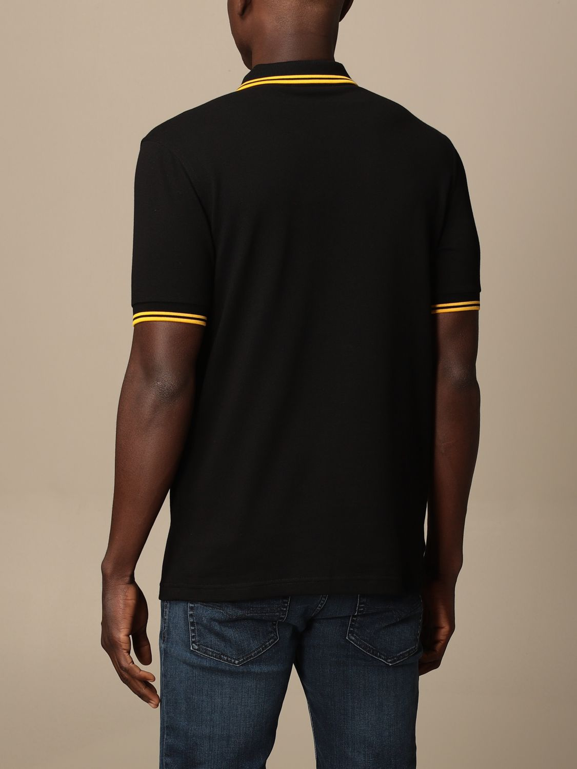 Polo Fred Perry: Polo homme Fred Perry noir 1 2