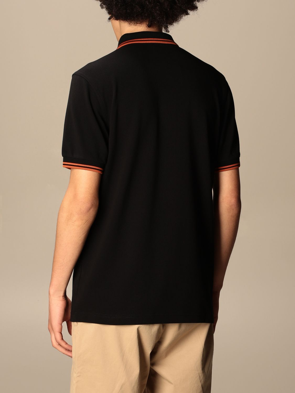 Polo Fred Perry: Polo hombre Fred Perry negro 4 2
