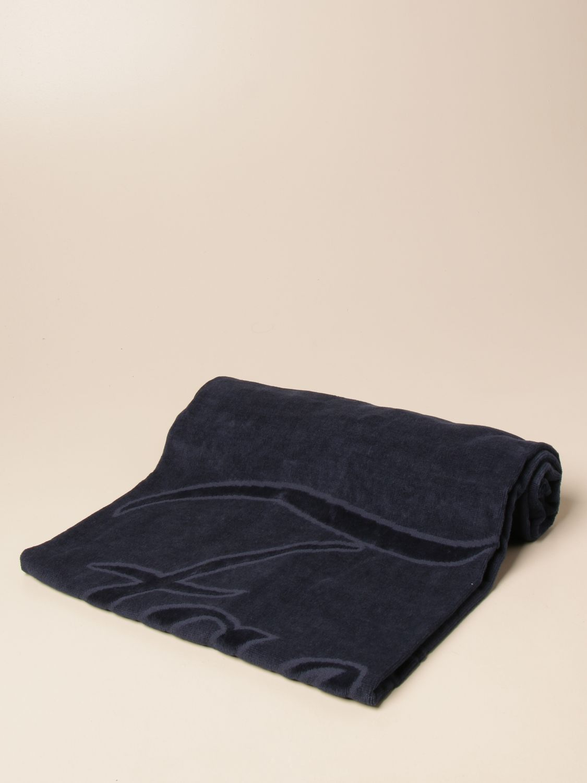 Beach towel baby Fay: Fay terry beach towel with big logo blue 1
