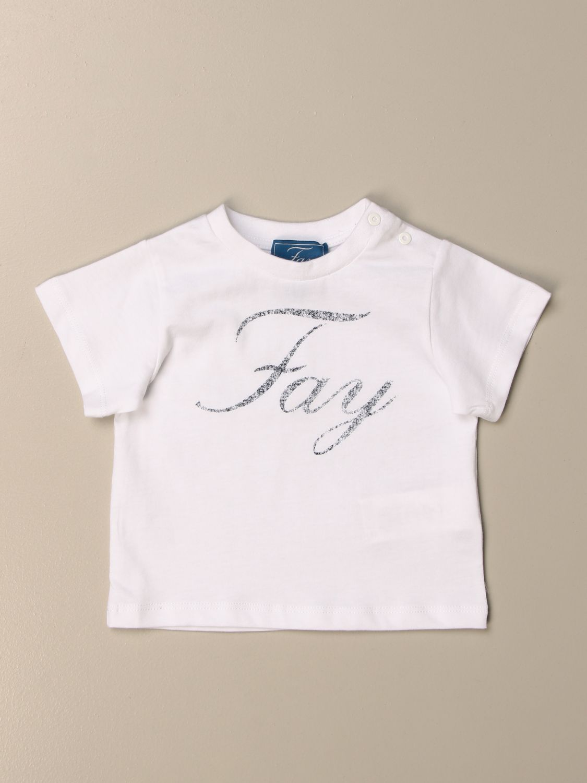 T-shirt Fay: Fay cotton t-shirt with logo white 1