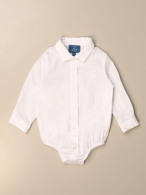 Body Fay: Chemise enfant Fay blanc 1
