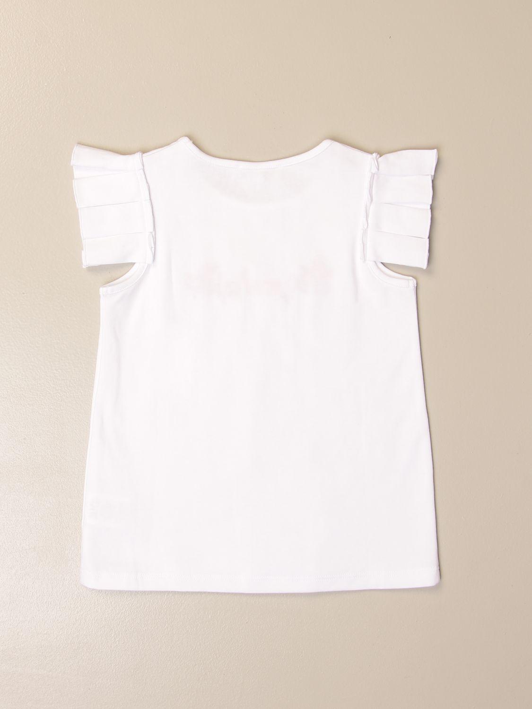 T-shirt Givenchy: T-shirt Givenchy in cotone con logo bianco 2